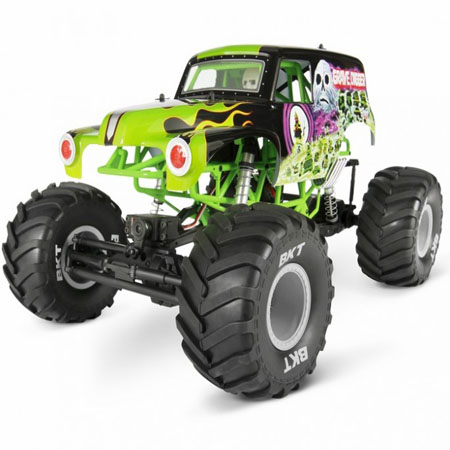 1 10 Grave Digger Monster Truck Rtr Amr Rc