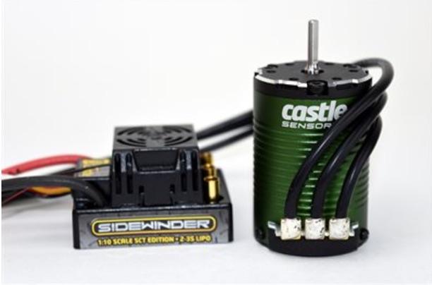 Sidewinder SCT Waterproof Combo w// 1410-3800KV Motor Sensored CSE010012302