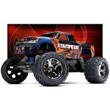 1/10 Stampede VXL RTR 2WD Monster Truck - Orange