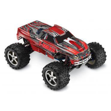 1/10 T-Maxx 3.3 4WD w/ 2.4GHz, TSM, TRX Engine; Red