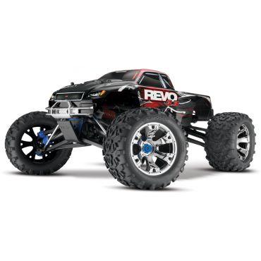 1/10 Revo 3.3 4WD Nitro Truck  RTR w/ TSM; Red