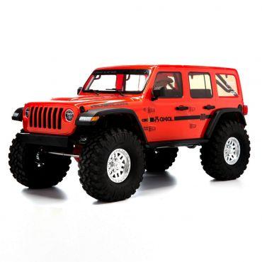 1/10 SCX10 III Jeep JLU Wrangler w/Portals,Org - RTR