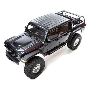1/10 SCX10 III Jeep JT Gladiator w/Portals RTR Gry