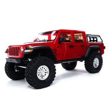 1/10 SCX10 III Jeep JT Gladiator w/Portals RTR Red