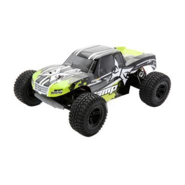 1/10 AMP MT 2WD Monster Truck: Black/Green RTR