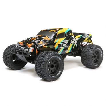 1/10 2wd Ruckus MT: Black/Yellow RTR