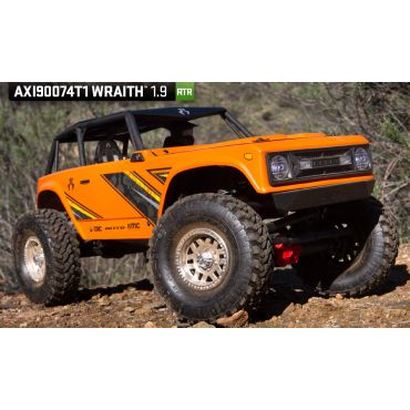 1/10 WraithTM 1.9 Electric 4WD RTR