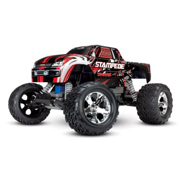 1/10 Stampede 2wd XL-5 NO BATTERY/CHARGER - Red