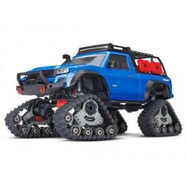 1/10 TRX-4 with Traxx 4X4 Extreme-Terrain Truck - Blue