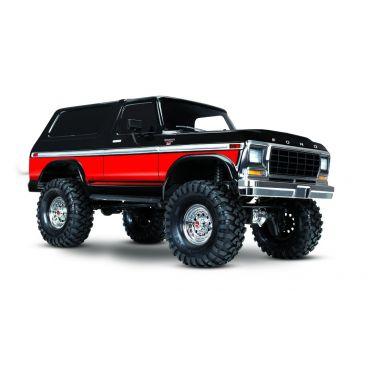 1/10 TRX-4 79 Ford Bronco Crawler, XL-5 HV, Titan 12T Red