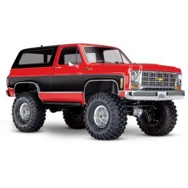 1/10 TRX4 79 Chevy Blazer Crawler, Red
