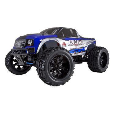1/10 VOLCANO EPX PRO ELECTRIC BRUSHLESS MONSTER TRUCK - Blue/Silver